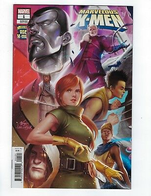 Age Of X-Man Marvelous X-Men # 1 Connecting Variant Cover NM Ships Feb 6th