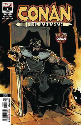 Conan The Barbarian # 1 2nd Print Variant Cover NM Ships Feb 6th