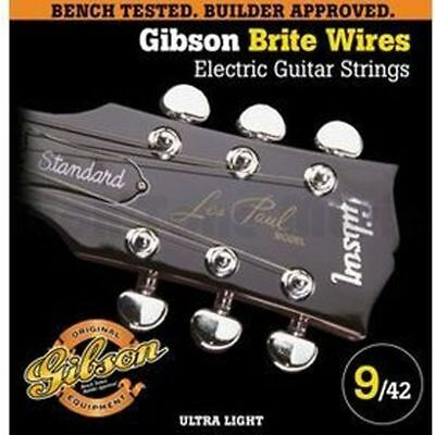 Gibson Brite Wires Electric Guitar strings - 09-42