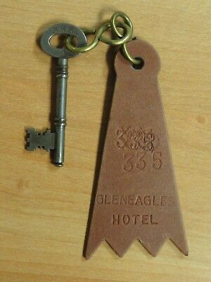 Scotland, Gleneagles Hotel Room Key & Fob