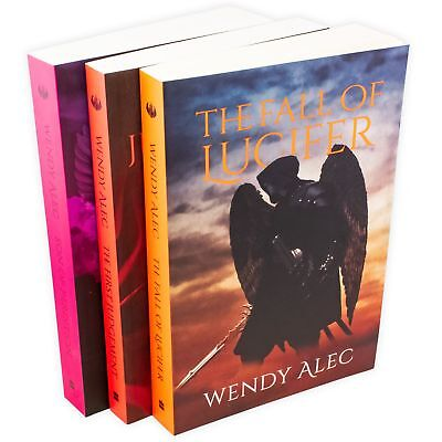 Wendy Alec Chronicles of Brothers 3 Book Collection The Fall of Lucifer, The Fir