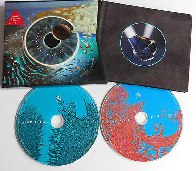 * PINK FLOYD * PULSE LIVE * LIMITED EDT x2 DISC CD WIH BOOK * RARE * DAVE GILMOU