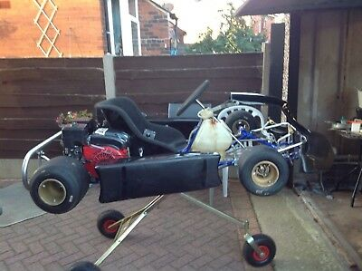 Newly Refurbished Pro-GoKart | Beginners Kart | Twin Honda Engines