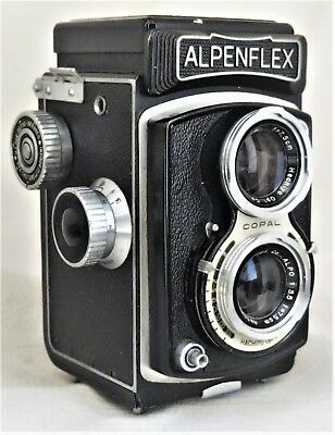 Hachiyo Alpenflex TLR Camera / Alpo 7.5cm f/3.5 Lens Good Condition