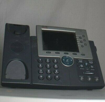 CISCO 7965 IP Office Phone Color LCD w/ Handset and Stand