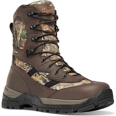 """286a31570c9 MENS DANNER HIGH Ground 8"""" Camo Hunting Boots Size 12 Great ..."""