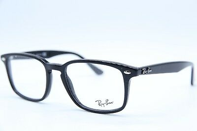 d6acf669cd NEW RAY-BAN RB 5353 2000 BLACK AUTHENTIC EYEGLASSES RX RB5353 Rx 52 ...