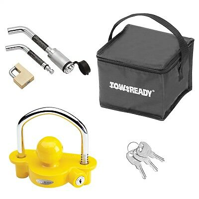 Tow Ready 63256 Trailer Hitch Lock Universal Supplement to Hitch Installation