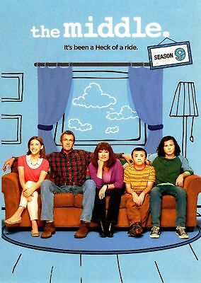 The Middle: The Complete Ninth Season 9 9th, FREE 2-3 EXPEDITED SHIPPING