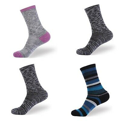 4 Pairs Women's Merino Wool Warm Soft Thick Casual Multicolor Retro Winter Socks