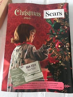1966 Vintage Sears Christmas catalog