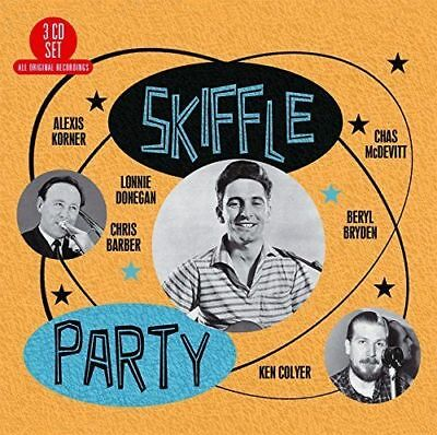 SKIFFLE PARTY [CD] Billy Bragg Inspired. British 50s Blues. Gift Idea. NEW - EUR 6,72 | PicClick FR