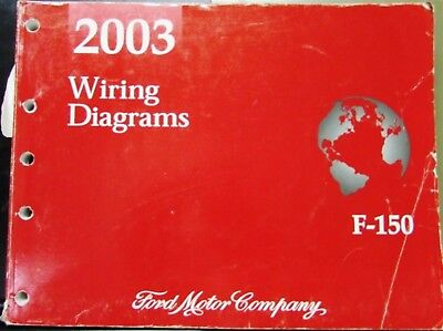 2003 ford dealer electrical wiring diagram service manual f-150 pickup truck