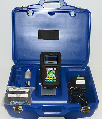Olympus Panametrics 38DL Plus Ultrasonic Thickness Gage w/D790-SM Transducer