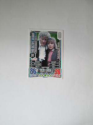 Doctor Who Alien Attax 50th Anniversay set - TM9 The Third Doctor & Jo Grant