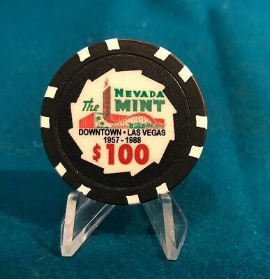 Mint Hotel,  $100 Fantasy Casino Chip -  Downtown Fremont St.  Las Vegas, Nevada