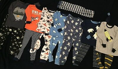 Lot of 18 Boys PJ sets Size 3T
