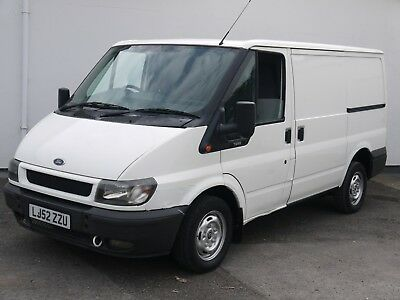 Ford Transit 280 Swb Low Top Panel Van High Spec White 1 Former Keeper!