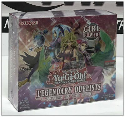 Yu-Gi-Oh! Legendary Duelists: Sisters of the Rose English 1st. Ed. Booster Box