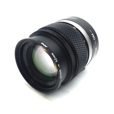 Olympus Zuiko Machine Vision Camera Lens 100mm Aperture F/2.8 C-Mount *Debris*