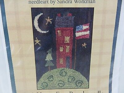 Pine Mountain Designs HOME FREE Punch Needle Pattern P10 NEW Sandra Workman