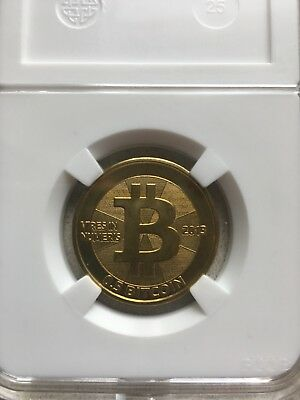2013 Casascius BIT COIN .5 Or .50, Not The 1.0