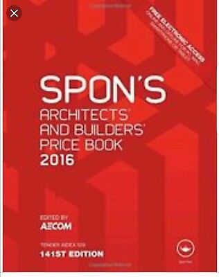 Spon's Architect's and Builders' Price Book 2016 (P D F)