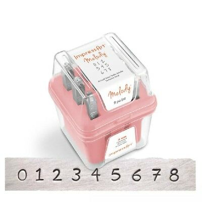 Brand New ImpressArt Melody Numbers Individual Replacement Stamps Free Postage