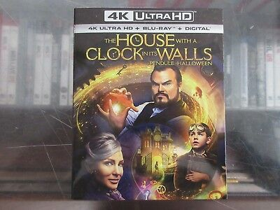 BRAND NEW The House With A Clock In Its Walls (4K Ultra HD + Blu Ray + Digital)