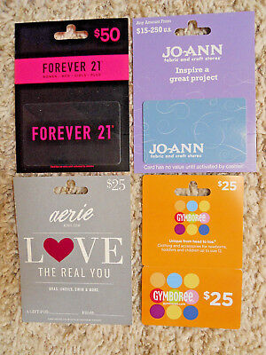 Gift Cards, Collectible, unused, new,  with backing, no value on the cards  (RX)