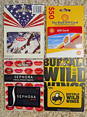 Collectible Gift Cards, with backing, no value on cards, new and unused     (TO)