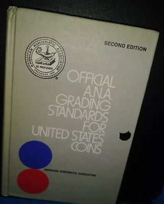 Official ANA Grading Standards For United States U.S. Coins Numismatic Whitman