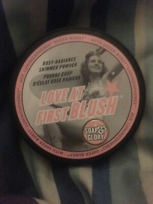 Soap And Glory Love At First Blush Shimmer Blush Brand New.