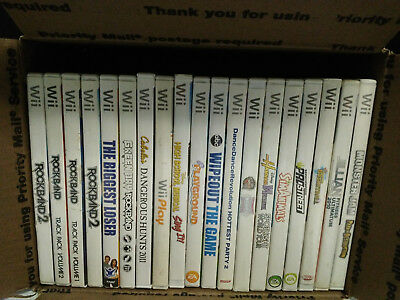 Wholesale Lot of NIntendo Wii Video Games - Used, Needs Clean resurfaced #1