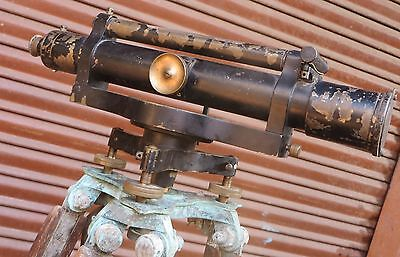 1873 T COOKE & SONS YORK SURVEY & LEVELING Engineer telescope No 598 Complete