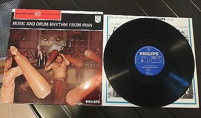 Music and Drum Rhythm From Iran RARE NL Press Top Condition RARE Mono