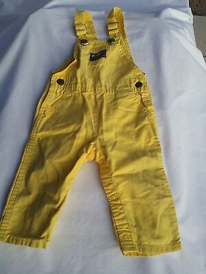 OSH KOSH USA vintage baby vestbak toddler overall coverall 12 18 months 1T
