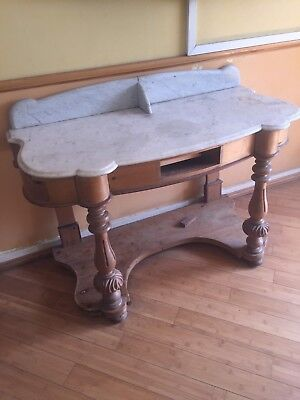 Antique Marble,Table/washstand