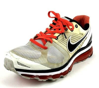 NIKE AIR MAX Flywire Womens Size 9.5 Running Shoes Athletic Wear ... 1ae0701ff