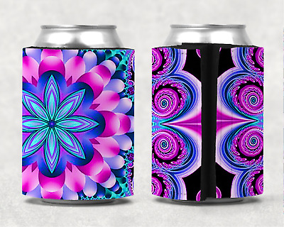 Mandala Personalised Stubby Holder Can Cooler
