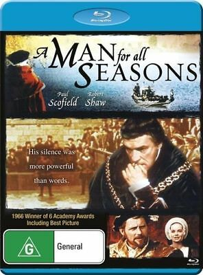 A Man for all Seasons Blu-Ray [New/Sealed] Region A, B, C