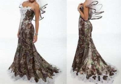 New Camo Lace Wedding Gown Truetimber Camo Ema Made Only In Usa 565 00 Picclick,Evening Dresses For Wedding Guest