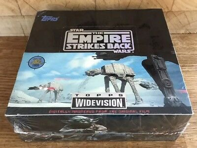STAR WARS Topps Widevision Empire Strikes Back Trading Cards New/Sealed Full Box