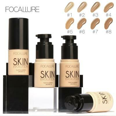 FOCALLURE Face Makeup Base Face Liquid Foundation BB Cream Concealer BE