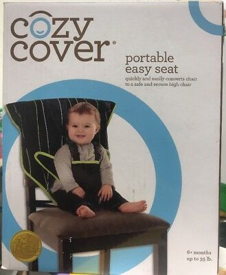 Infant Safety Seat - Portable Easy Seat by Cozy Cover - Black