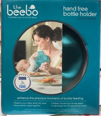 The Beebo Hand Free Bottle Holder (Teal) New Open Box