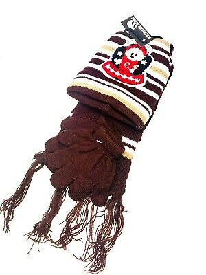 Kids hat scarf glove set matching little boys winter clothing Toddlers