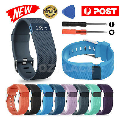Silicone Replacement Band Bracelet Wrist Strap For Fitbit Charge HR with Tool AU