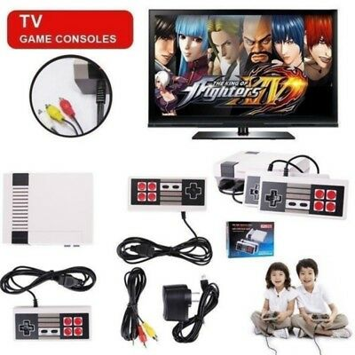 Mini Vintage Retro TV Game Console Classic 620 Built-in Games + 2 Controllers