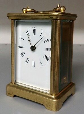 Antique Brass Carriage Clock - For Restoration
